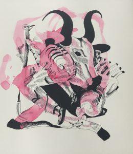 Sanez _ Watercolour Bull